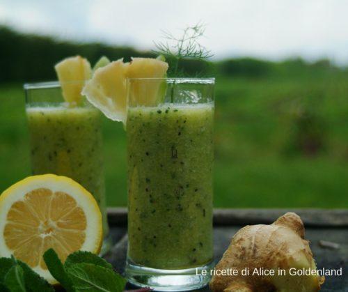 smoothie-ananas-limone-kiwi